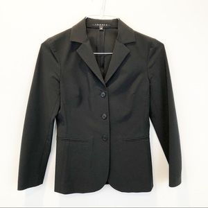 Theory 3 button black xs blazer